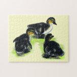 Mallard Ducklings Jigsaw Puzzle