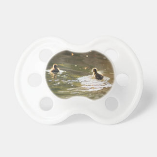 Mallard Ducklings Pacifiers