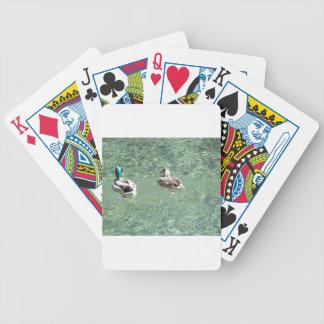 Mallard Ducks Bicycle Playing Cards