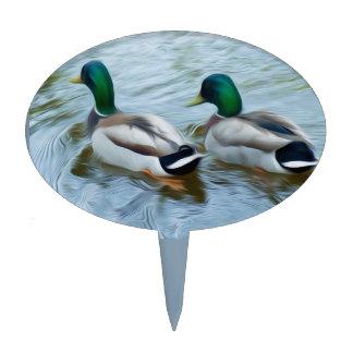 Mallard Ducks Cake Toppers