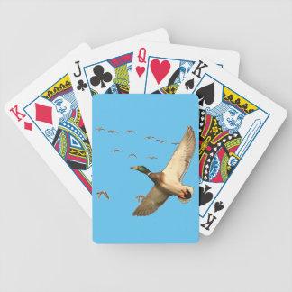 Mallard ducks Canadian geese Bicycle Playing Cards