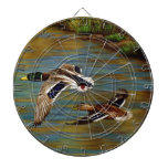 Mallard Ducks Flying Dart Board