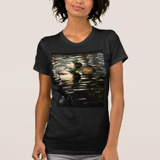 Mallard Ducks in a Pond T-shirts