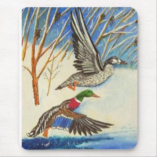 Mallard Ducks Mouse Pad