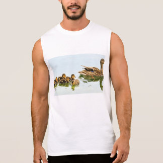 mallard ducks sleeveless shirt