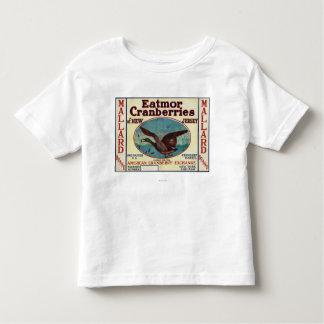 Mallard Eatmor Cranberries Brand Label Toddler T-shirt