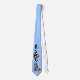 Mallard & five ducklings neck tie