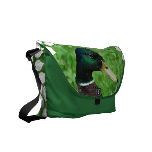 Mallard Messenger Bag