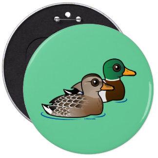 Mallard Pair Pinback Button