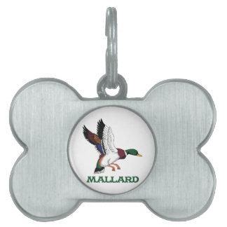 Mallard Pet Tags