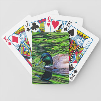 MALLARD BICYCLE PLAYING CARDS