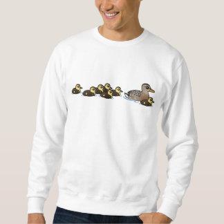 Mallard & seven ducklings sweatshirt