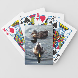 Mallards Bicycle Playing Cards