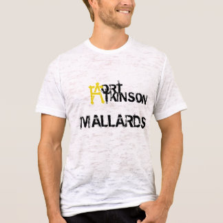 Mallards burned tshirt