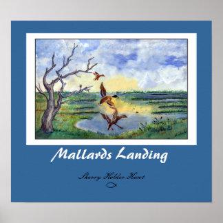 Mallards Landing Print