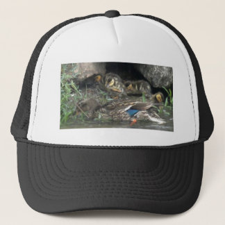 Mallards Safe from the Elements Trucker Hat