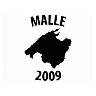 malle 2009 icon postcard