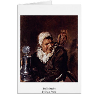 Malle Babbe By Hals Frans Cards