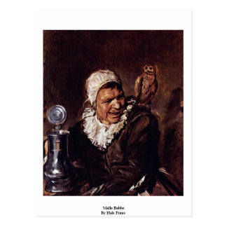 Malle Babbe By Hals Frans Postcard