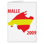 malle contour 2009 icon greeting card