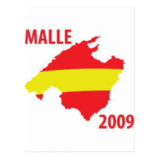 malle contour 2009 icon postcard