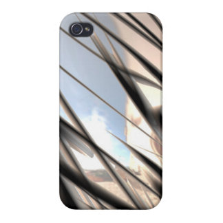 Malleable Metal Pattern - iPhone 4 Case