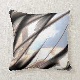 Malleable Metal Pattern Pillow