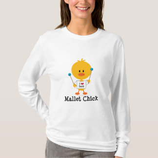 Mallet Chick Long Sleeve Tee Shirt