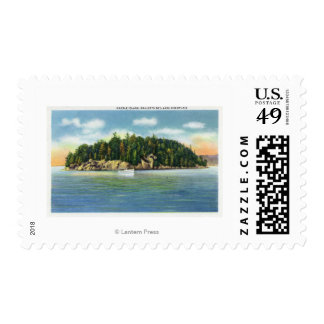 Malletts Bay View of Marble Island Postage