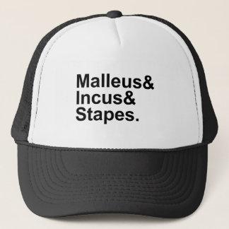 Malleus Incus Stapes   Three Bones of Middle Ear Trucker Hat