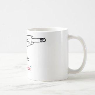 Mallgrab proof mug basic white mug