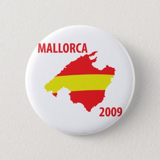 mallorca 2009 icon pinback button