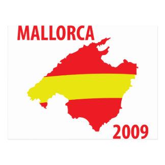 mallorca 2009 icon postcard
