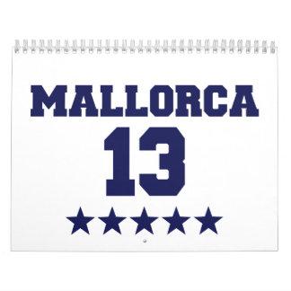 Mallorca 2013 calendario