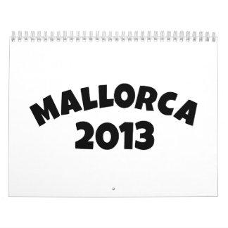 Mallorca 2013 calendario de pared