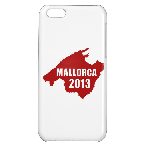 Mallorca 2013 map cover for iPhone 5C