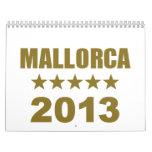 Mallorca 2013 wall calendar