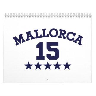Mallorca 2015 calendario de pared