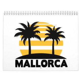 Mallorca Wall Calendar