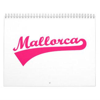 Mallorca Calendario De Pared