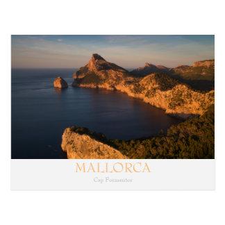 Mallorca - Cap Formentor postcard with text