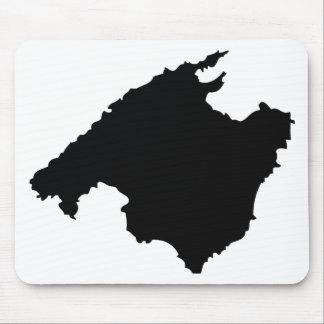 mallorca contour icon mouse pad