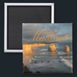 """Mallorca Majorca Spain Souvenir Fridge Magnets<br><div class=""""desc"""">Tip: dated magnets are a fun way to keep a chronology of your travels.  Adding a date is easy,  give it a try!</div>"""