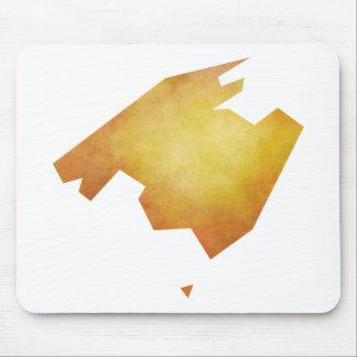 Mallorca Map Mouse Pad