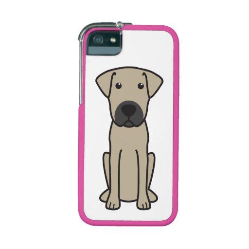 Mallorca Mastiff Dog Cartoon iPhone 5 Cases