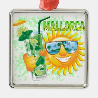 Mallorca Metal Ornament