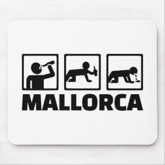 Mallorca party mouse pad