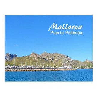 Mallorca, Puerto Pollensa - postal