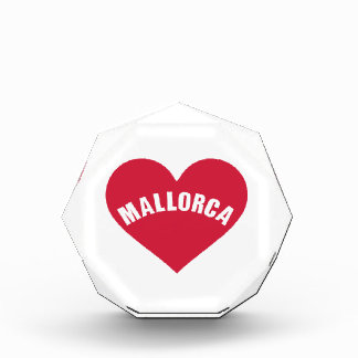 Mallorca red heart awards
