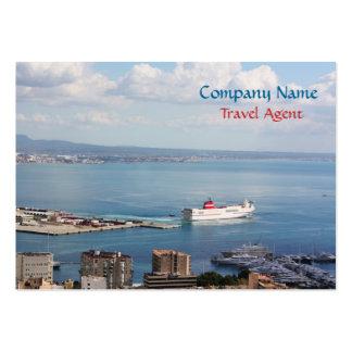 Mallorca sea view large business card